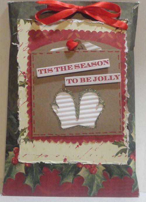 Tis the Season  Tmika Miller - Christmas pockets