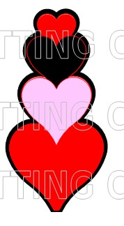HEART SHAPED CARDS
