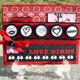 LOVE BIRDS  Shelly Skala - Hershey Kiss Valentine bottoms