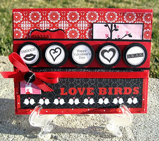 LOVE BIRDS  Shelly Skala - Hershey Kiss Valentine bottoms