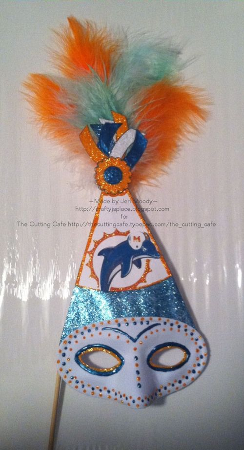 Party Hat  Jeri Moody - Party hat shaped card