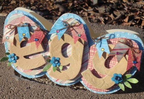 Egg  Leah - Egg shaped card set