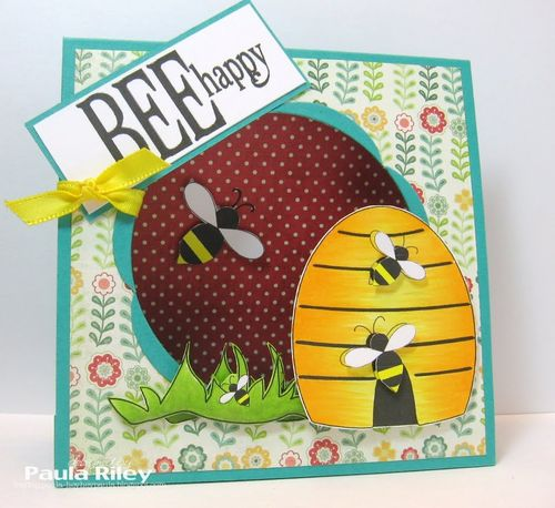 BEE happy  Paula Riley - Cute Critters