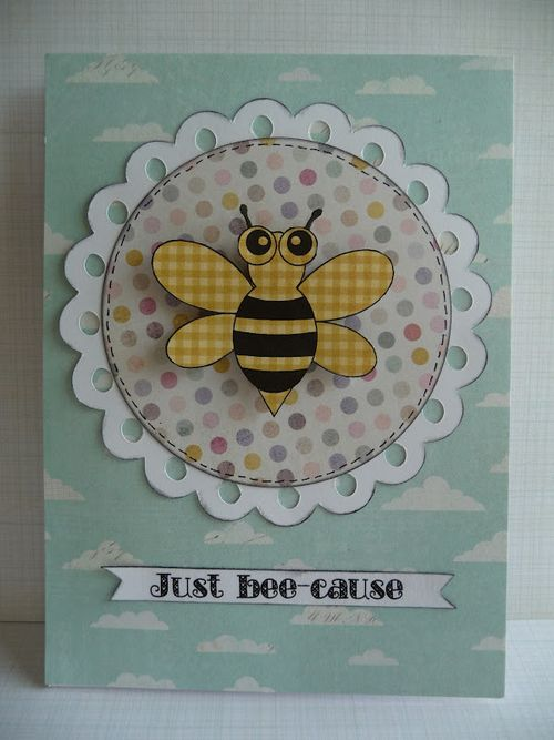 JUST BEE-CAUSE  Jeri Thomas - Cute Critters