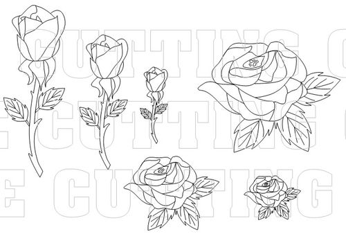 printable rose template the 1294 best images about templets on
