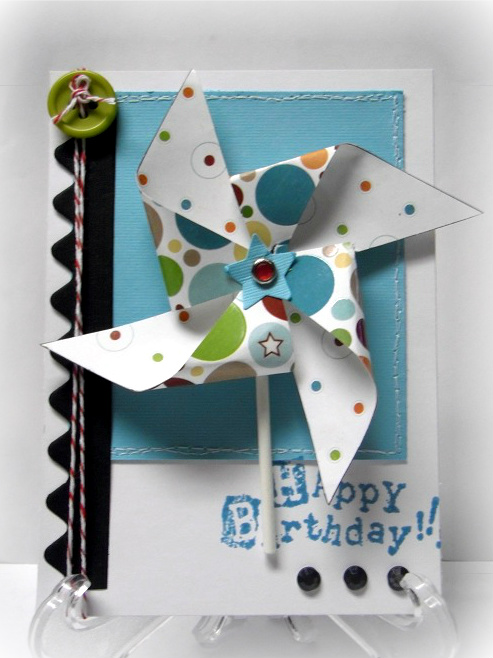 Happy Birthday - Jovita Torres pinwheels
