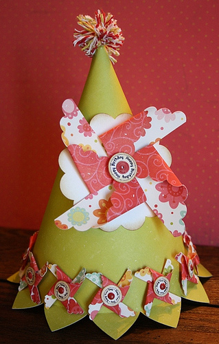 Happy Birthday - Carolyn Wolff - Pinwheel Sentiment set