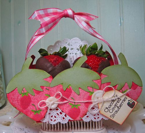 Chocolate Covered Strawberries  Lori Hairston - Strawberry Treat Box
