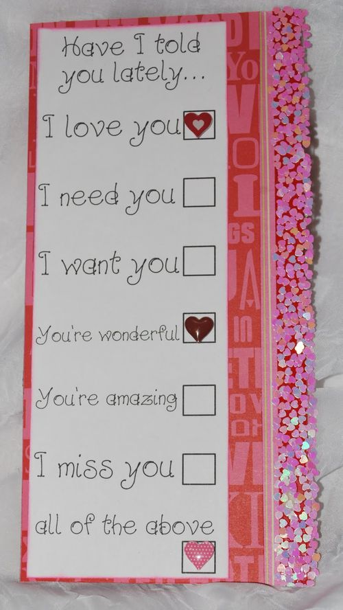 Have a told you lately   Lori Warner - Long sentiment tags