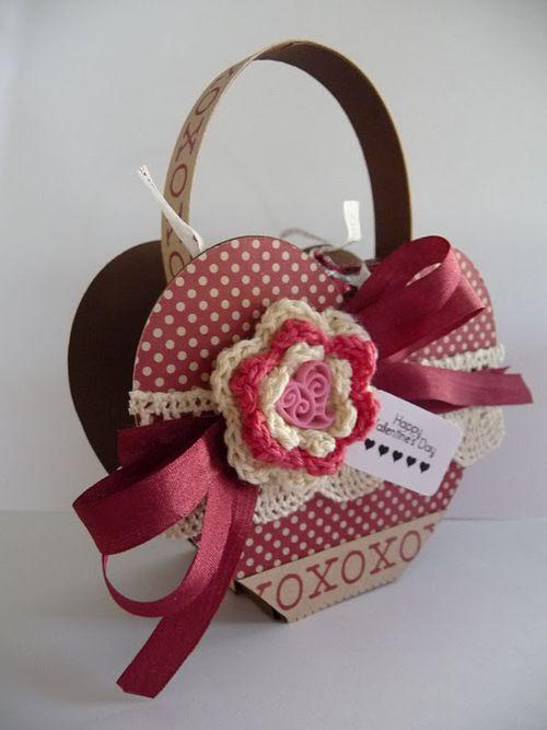 Happy Valentine's Day  Jeri Thomas - Heart treat Box