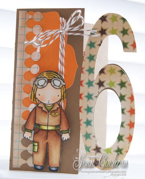 6 Jenn Cochran - 6 shaped card set
