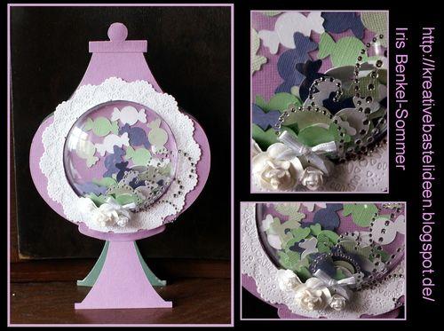 Jar shaped card  - Iris Sommer - Jar shaped card