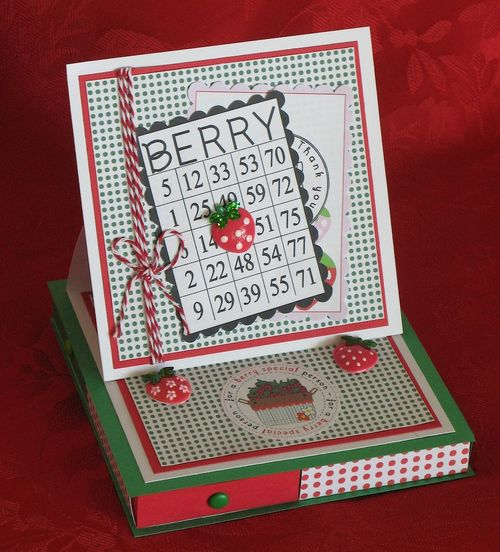 BERRY  Kerys Sharrock - Berry sweet greetings, berry sweet backgrounds and matchbox set