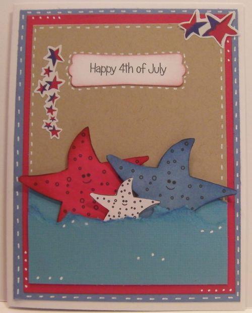 Happy 4th of July  Rhonda Zmikly - Under the sea