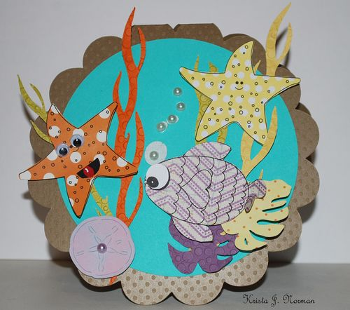 Sea card  Krista Norman - Under the sea