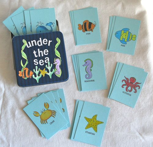 Under the Sea game - Kerys Sharrock - Under the sea