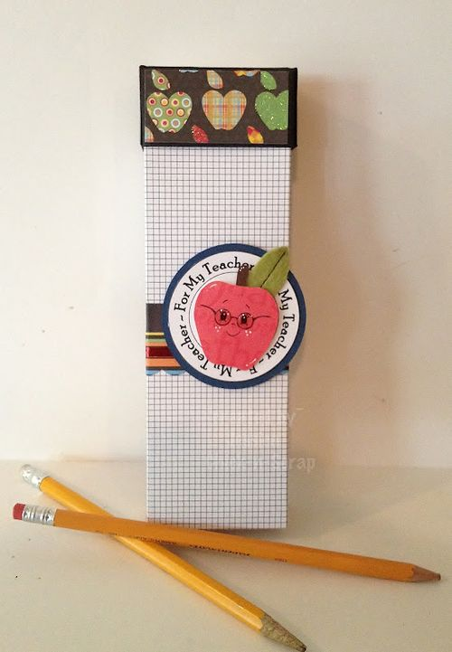 For my Teacher  Jessica Esch - Pencil box and Tiny grid
