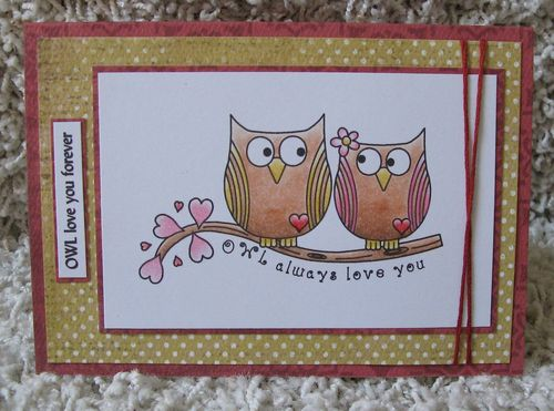 OWL love you forever  Kerys Sharrock - Fun with owls