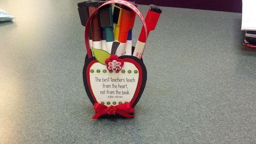 Teachers   Kimberly Morrow - Apple treat box