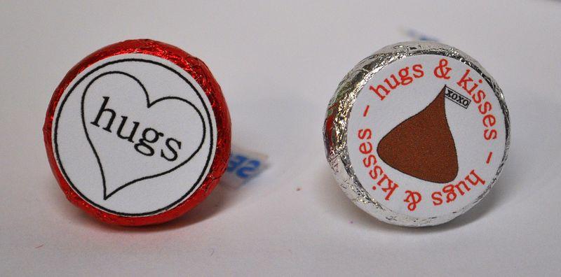 Hershey kiss bottoms