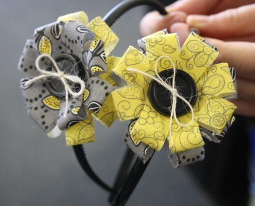 Hair Band  Carolyn Wolff - Loopy Loopy Bow - Flower