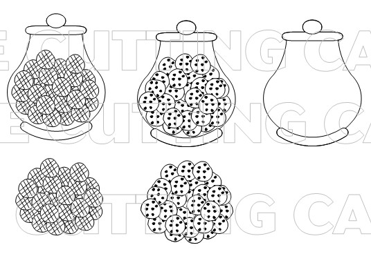 The Cutting Cafe\': FUN WITH JARS....PRINTABLE STAMP SET