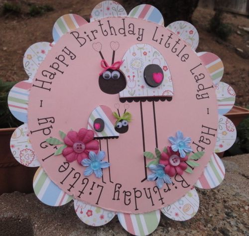 Happy Birthday Little Lady  Leah - Cute Critters