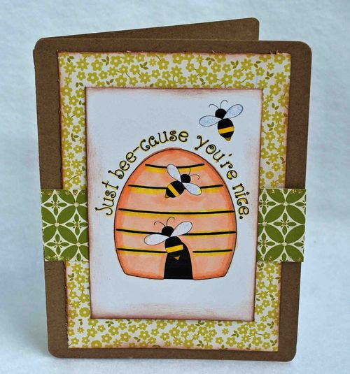 Just bee-cause  Amber Goble - Cute Critters