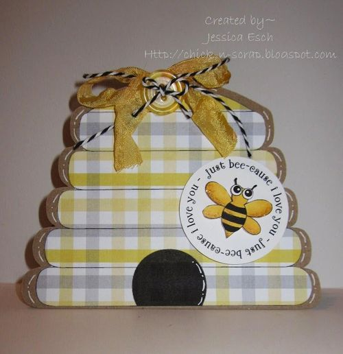 Just bee-cause  Jessica Esch - Cute Critters