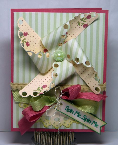 Spin Me  Kimberly Morrow - Pinwheel sentiment set