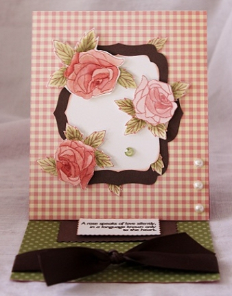Rose card  Penny Shurberg - Beautiful Rose
