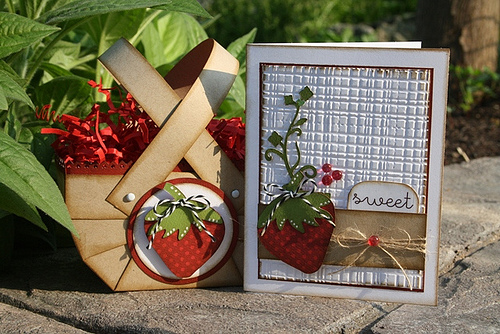 Sweet  Carolyn Wolff - Strawberry treat Box