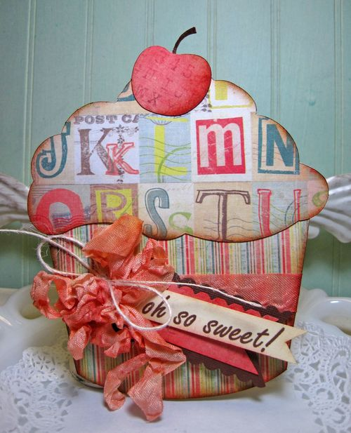 Oh So Sweet  Lori Hairston - Sweet stuff shaped card set