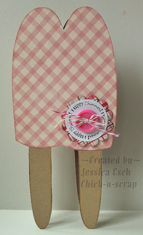 Happy Summer  Jessica Esch - Sweet stuff shaped card set
