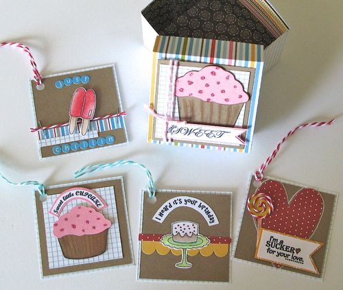 Swee stuff shaped card set  kerys Sharrock - Sweet stuff shaped card set and Sweet Stuff printable stamp set