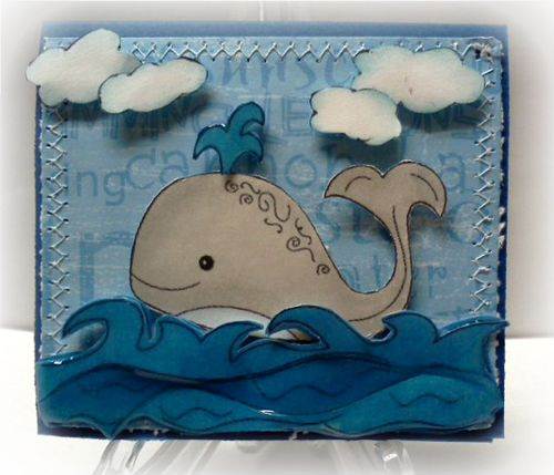 Whale card  Jovita Torres - Under the sea