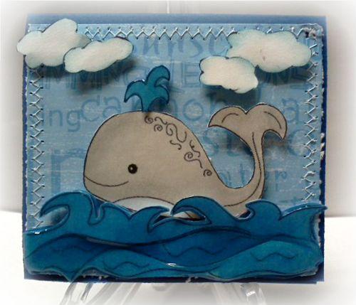 Whale card  Jovita Torres - Under the sea