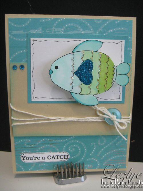 You're a catch  Lezlye Lauterbach - Under the sea