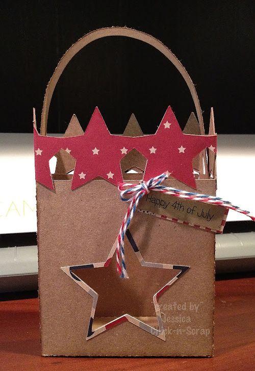 Happy 4th of July  Jessica Esch - Star Box