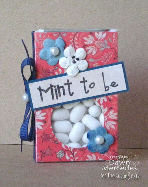 Mint to be  Dawn Mercedes - Tic Tac box