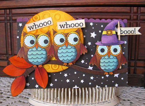 Whooo whooo booo  Lori Hairston - Fun with owls