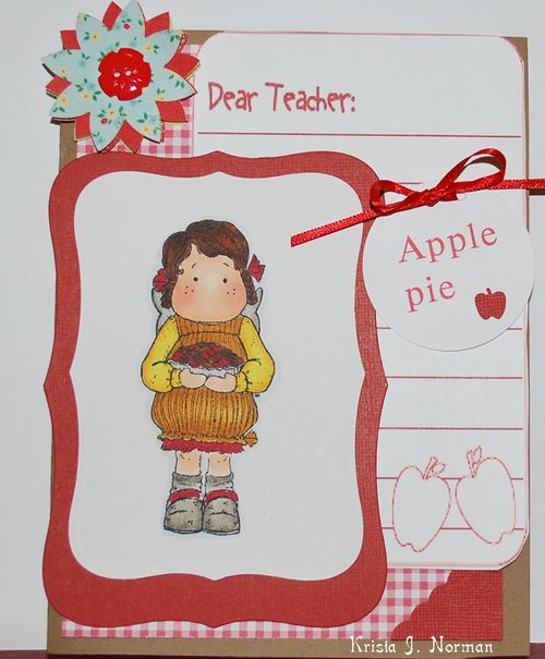 Apple Pie  Krista Norman - All about school