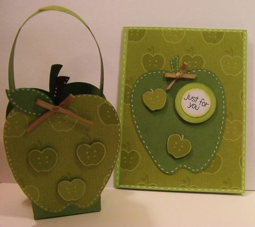 Just for you  Rhonda Zmilky - Apple Treat box