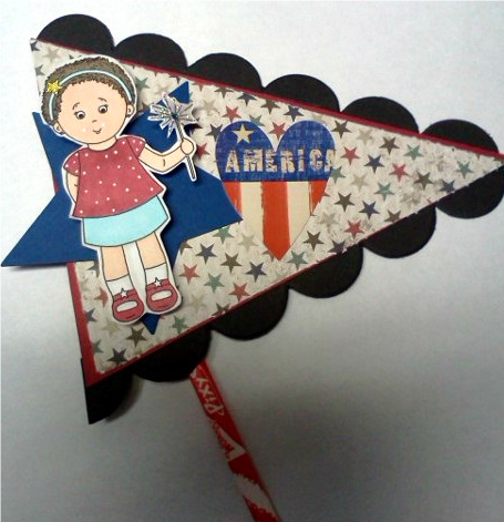 America  Jovita Torres - Ruby J. ready for the fourth
