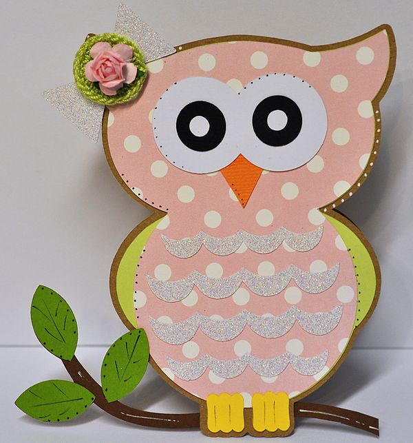 Calendar Planner July : The cutting cafe owl shaped card set template