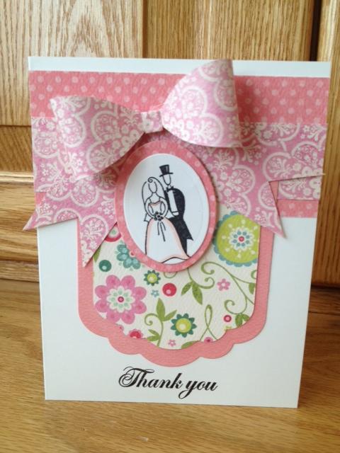 Thank you  Lezlye Lauterbach - bow tie ribbon template