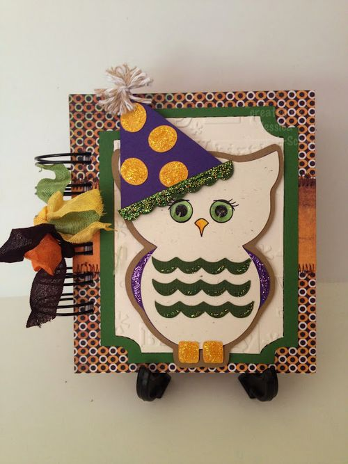 Owl notepad  Jessica Esch - Owl shaped card