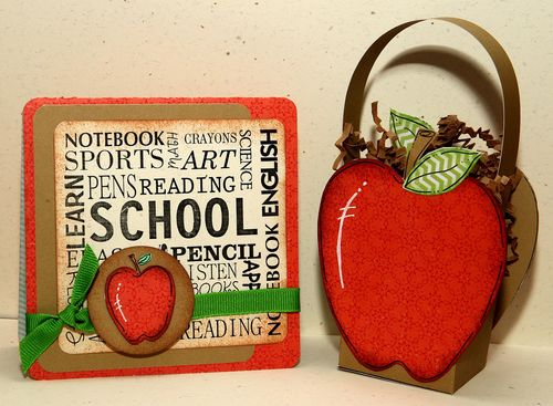 School  Karen Howard - All about school  and apple treat box