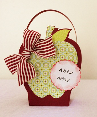 A is for Apple  Penny Shuberg - Apple treat box
