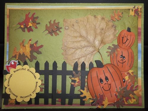 Bountiful Blessings Doris Molina - Autumn Days and Halloween and fall basic shapes